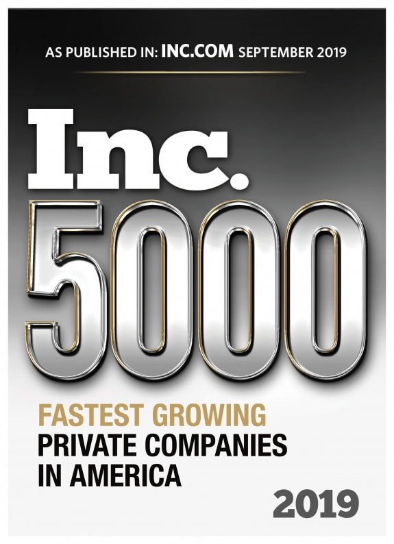 2019 INC 5000 Fastest Growing Private Companies in America - Giltner Logisics