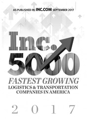 2017 INC 5000 Fastest Growing Logistics & Transportation Companies in America - Giltner Logisics