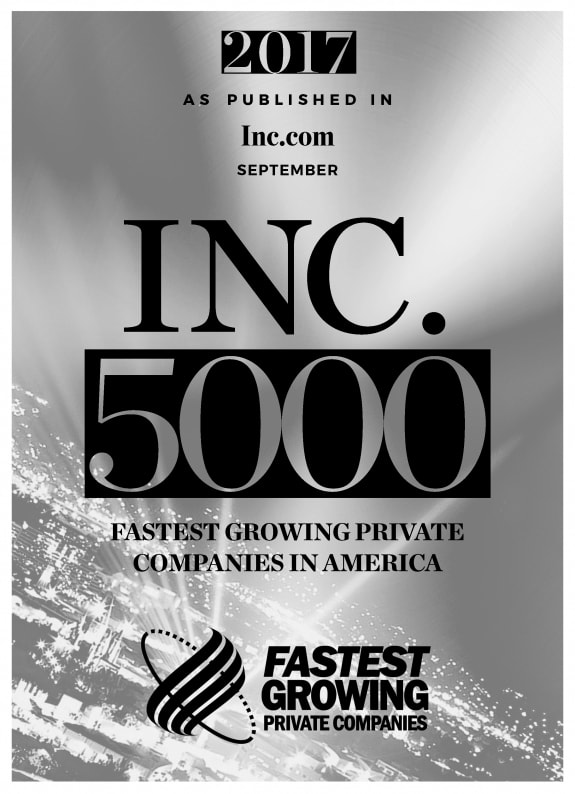 2017 INC 5000 Fastest Growing Private Companies in America - Giltner Logistics