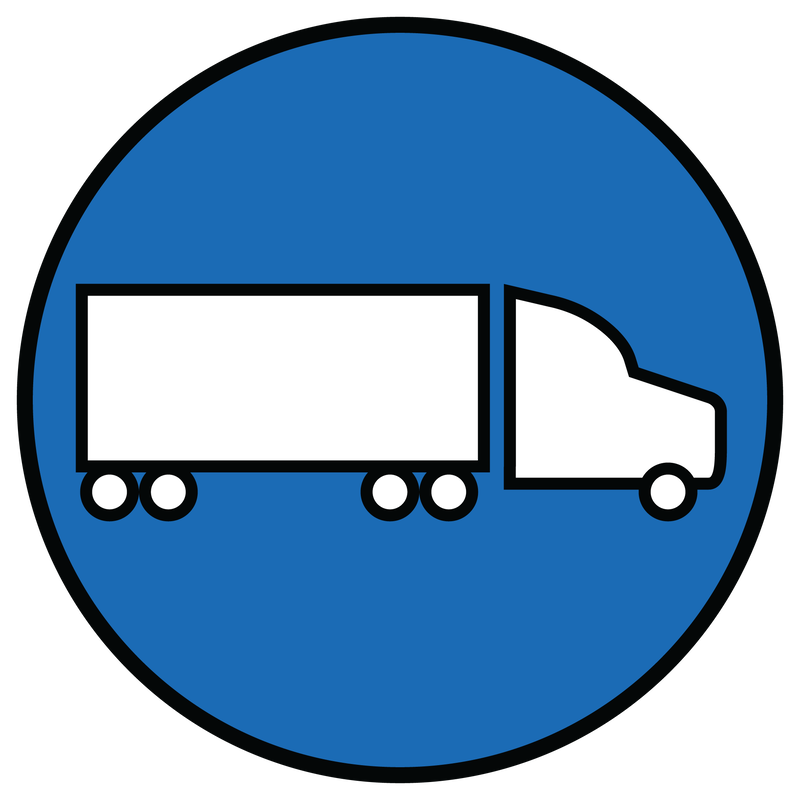 Truckload Icon - Giltner Logistics